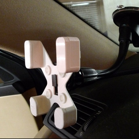 Free 3d print files  HTC Desire 500 car phone holder, mschiller
