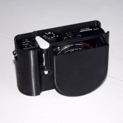 Download free 3D printing files Lumix LX3 protection cover, mschiller