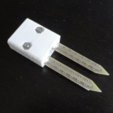 Free STL files Soil Moisture Sensor Adapter modified, mschiller