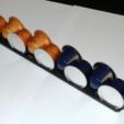 Free 3D print files Nespresso pod organizer, mschiller