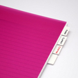 Free STL Notebook Organizer - Customizable, mschiller