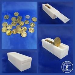 Modèle 3D gratuit Rangement Jetons monnaie de Paris, JBILOEB