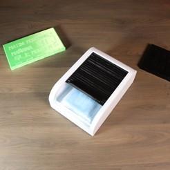 IMG_0008.JPG Télécharger fichier STL gratuit La boite à masque : • Plan pour imprimante 3D, Les-Minutes-Maker