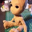 Download free 3D printing designs Baby Groot, Les-Minutes-Maker