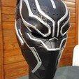 Download OBJ file Black Panther mask • 3D printer template, Les-Minutes-Maker
