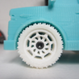 Free stl file Wheel V2 for Truck, dis_fun_ctional_designs