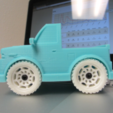 Download free 3D printing designs Wheel V2 for Truck, dis_fun_ctional_designs