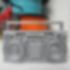 boombox.stl Download free STL file Boombox • 3D printer design, STRIX_3D