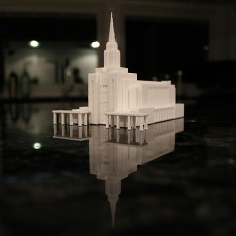 Download free STL file Oquirrh Mountain Temple • 3D printable design, dis_fun_ctional_designs