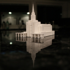 Free Oquirrh Mountain Temple 3D model, dis_fun_ctional_designs