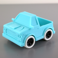 Download free STL file Truck • 3D printer model, dis_fun_ctional_designs