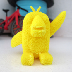 Free 3d printer model Furry Birdy, dis_fun_ctional_designs