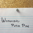 Download free STL file Push Pin (functional) • 3D printer template, dis_fun_ctional_designs