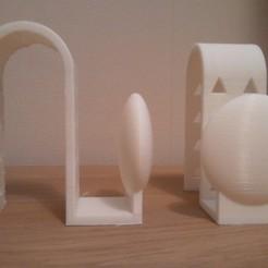 Download STL file Door hanger, hanger, radiator hanger, hook, coat rack • 3D printable object, Sebho