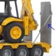 Capture.PNG Download free STL file [Spare Part] Ramp Holder Rod, for Bruder 02776 truck • 3D printer template, Sebho