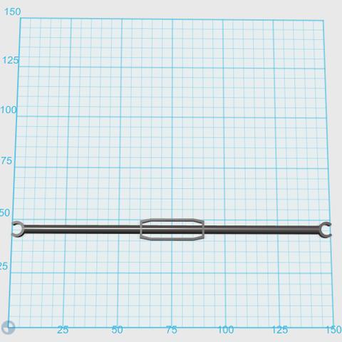 Capture3.PNG Download free STL file [Spare Part] Ramp Holder Rod, for Bruder 02776 truck • 3D printer template, Sebho