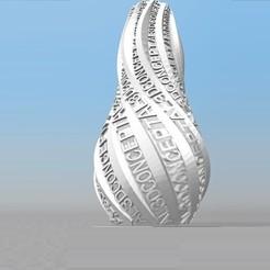 Impresiones 3D FLORERO personalizable IBARAKEL AL3DCONCEPT, Ibarakel