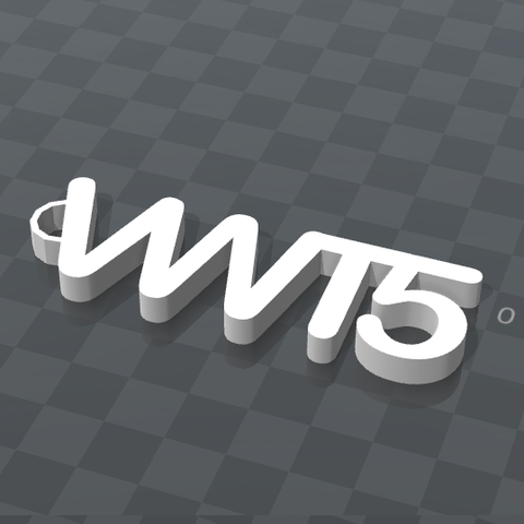 inage.png Download free STL file VWT5 PERSONALIZABLE KEYCHAIN • 3D printable template, Ibarakel