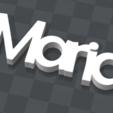 Télécharger objet 3D gratuit PORTE-CLEF PERSONNALISABLE Maria, Ibarakel