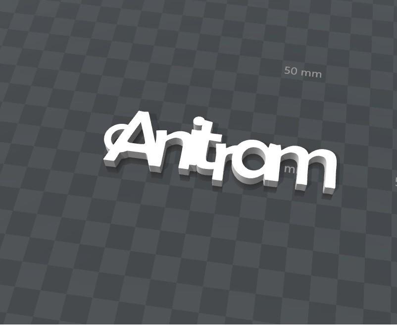 image.jpg Download free STL file CUSTOMIZABLE KEYCHAIN Anitram • 3D printable design, Ibarakel