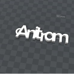 Download free 3D print files CUSTOMIZABLE KEYCHAIN ​​Anitram, Ibarakel