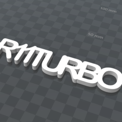 Download free 3D print files PERSONALIZABLE KEY RING R11TURBO, Ibarakel