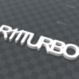 Download free 3D print files PERSONALIZABLE KEY RING R11TURBO, Ibarakel