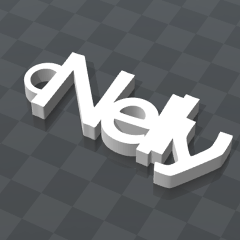 image.png Download free STL file NELLY PERSONALIZABLE KEY CHAIN • 3D printable model, Ibarakel