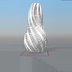 image.jpg Télécharger fichier STL VASE PERSONALISABLE IBARAKEL Arianna • Plan pour impression 3D, Ibarakel