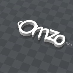 Download free 3D print files PERSONALIZABLE KEYCHAIN ​​omzo, Ibarakel
