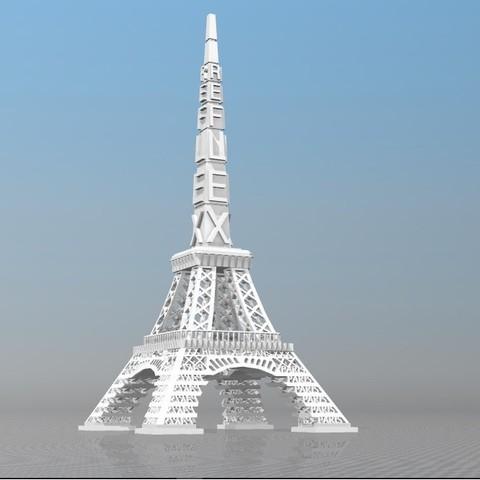 Download STL file TOUR OF PARIS IBARAKEL REFLEX • 3D print object, Ibarakel