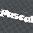 pascal.png Télécharger fichier STL gratuit PORTE-CLEF PERSONNALISABLE Pascal • Design à imprimer en 3D, Ibarakel