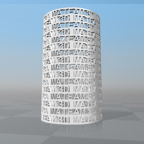 image.jpg Download STL file PERSONALIZABLE PENCIL PORCELAIN MA TEAM 3D • Object to 3D print, Ibarakel