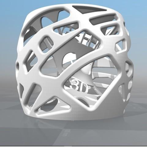 Download STL file 3D CUSTOMIZABLE LAMP Gefen 3D print • 3D printing template, Ibarakel