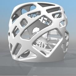Objet 3D LAMPE 3D PERSONNALISABLE Gefen 3D print, Ibarakel
