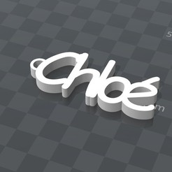 Download free 3D printer designs PERSONALIZABLE KEY CHAIN, Ibarakel