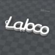 3d.png Télécharger fichier STL gratuit porte clef personnalisable LA LOCO • Modèle pour impression 3D, Ibarakel