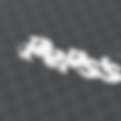Télécharger modèle 3D gratuit PORTE-CLEF PERSONNALISABLE peps, Ibarakel