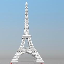 Objet 3D TOUR DE PARIS IBARAKEL HAMS DECOR , Ibarakel