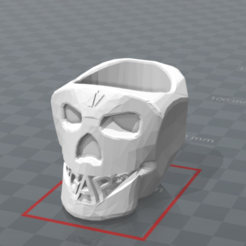 Download 3D printer designs HEAD OF DEATH GGAP3D, Ibarakel