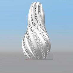 image.jpg Download STL file IBARAKEL CORALLIS GROUP PERSONALIZABLE VASE • 3D printer template, Ibarakel