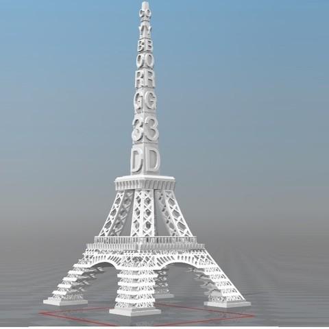 Download STL file IBARAKEL CYBORG 3D PARIS TOUR • 3D print design, Ibarakel