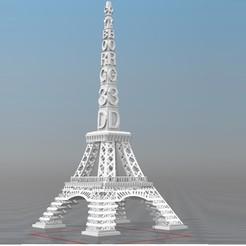 Fichier 3D TOUR DE PARIS IBARAKEL CYBORG 3D, Ibarakel