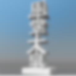 3d.stl Download STL file TOTEM HAPPY CHINESE HORNY ky • 3D printer design, Ibarakel
