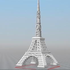 Objet 3D TOUR DE PARIS IBARAKEL chloé, Ibarakel