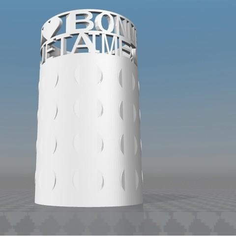 image.jpg Download STL file IBARAKEL-1 PERSONALIZED PENCIL CARD HOLDER • 3D printer object, Ibarakel