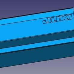 Fichier 3D Boîte à poussière pour overlock Yuki 644D, presssa