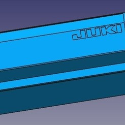 STL file Dust box for overlock Yuki 644D, presssa