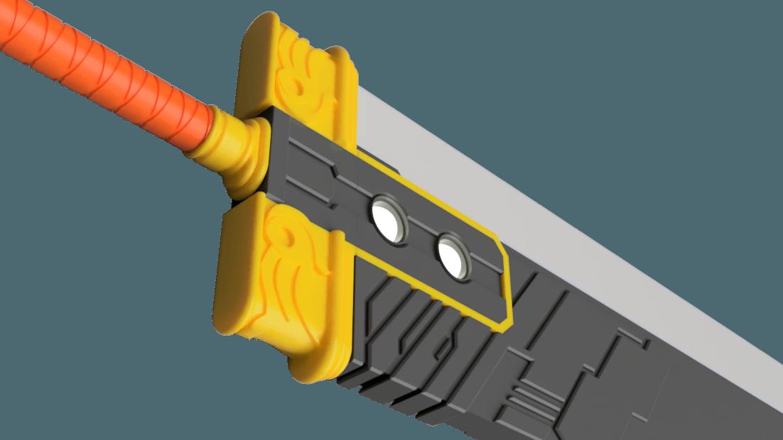 Buster_Sword_2018-Jun-20_10-58-46AM-000_CustomizedView15596567925_png_alpha.png Download STL file Final Fantasy VII - Buster Sword - Bracelet - Shoulder pad  • 3D print model, 3Dutchie