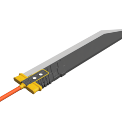 Buster_Sword_2018-Jun-20_10-12-41AM-000_CustomizedView31422718043_png_alpha.png Download STL file Final Fantasy VII - Buster Sword - Bracelet - Shoulder pad  • 3D print model, 3Dutchie